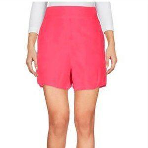 Closed Pink Bermuda Shorts Fuchsia Pink Small